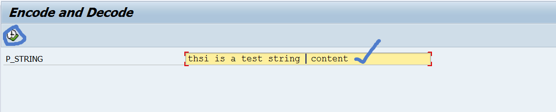 Encode and Decode String for security reason in SAP – SAPCODES