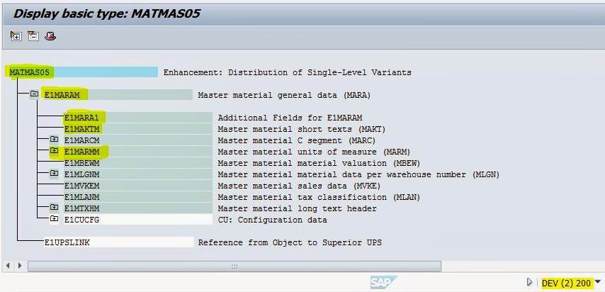IDoc with Segment Filtering – SAPCODES