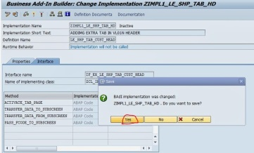 Screen Enhancement for Delivery Header [ VL01N/VL02N ] By
