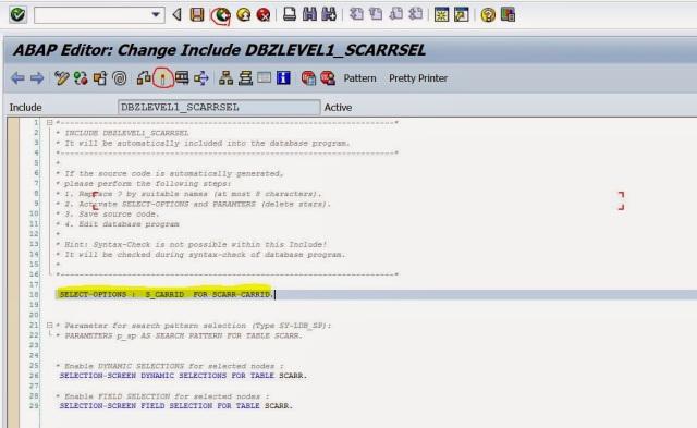 Logical Data Base- Single Node – SAPCODES