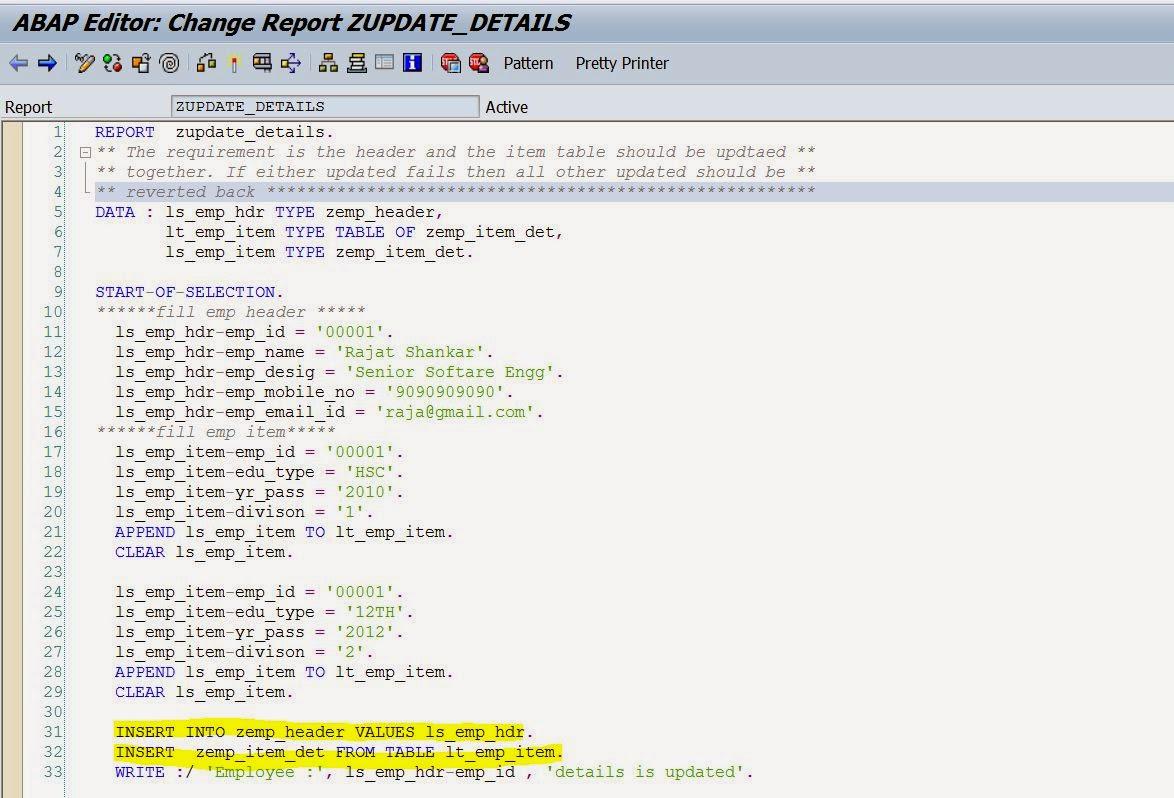 SAP LUW & DB LUW – 2 – SAPCODES