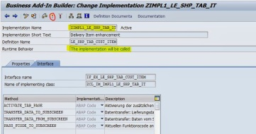 Screen Enhancement for Delivery item of [VL01N/VL02N] By