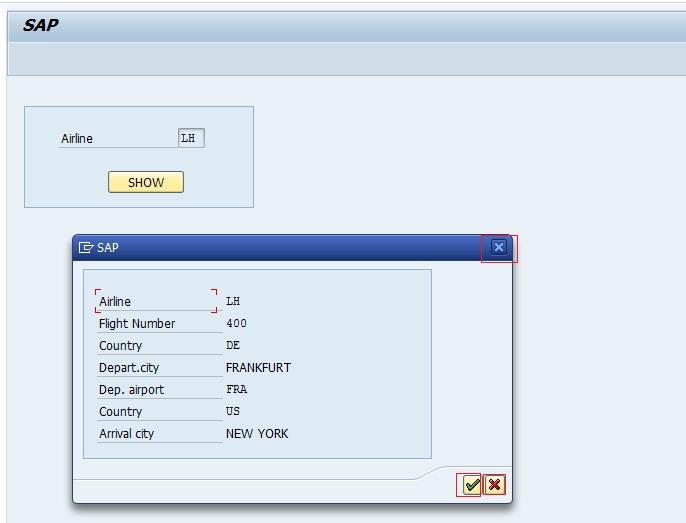 Modal Dialog Box (Pop Up Screen) In Module pool – SAPCODES