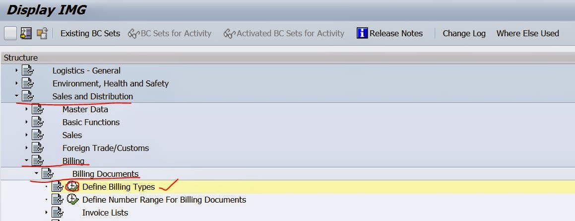 Defining New Billing Document type In SD – SAPCODES