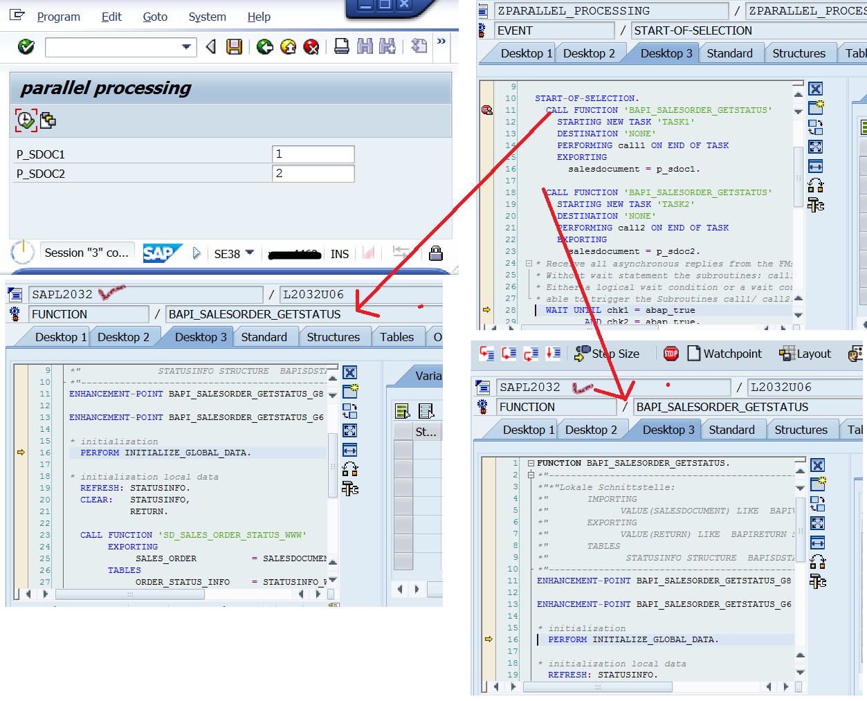 Parallel Processing In Procedural ABAP – SAPCODES
