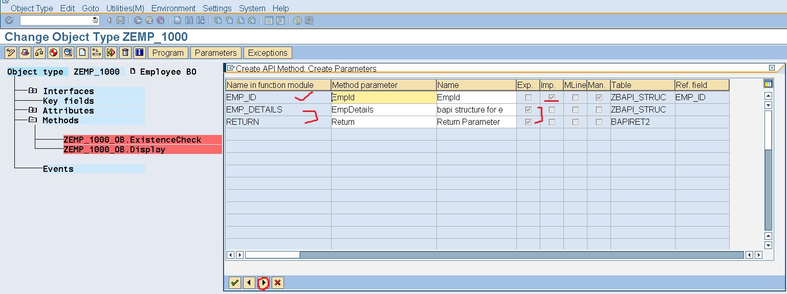Custom BAPI – SAPCODES