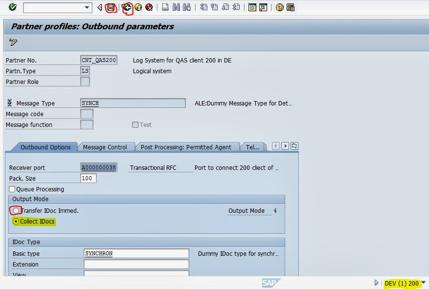 Collective Transfer of Material From One SAP Server to another SAP