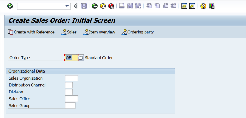 Order Reason in SD – SAPCODES
