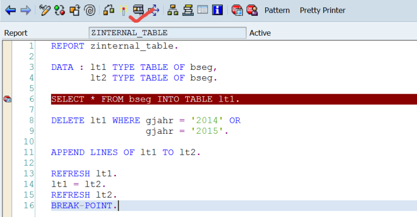 Releasing Memory for Large Internal Table – SAPCODES