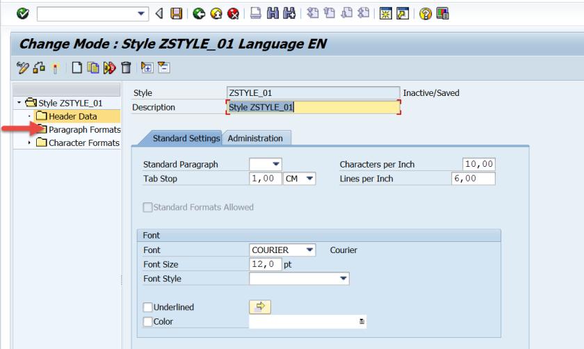 Creating Smartstyle & Using in Smartform – SAPCODES