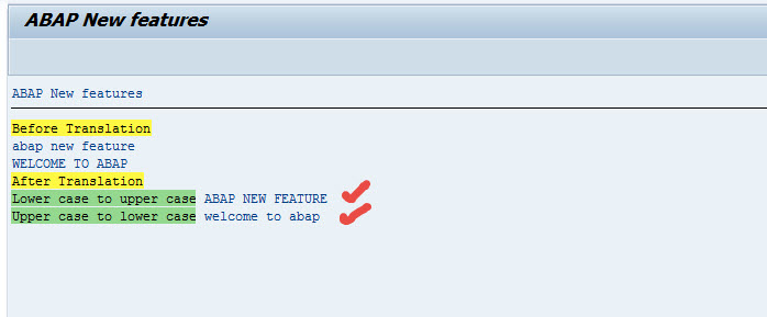 ABAP new CASE functions – SAPCODES