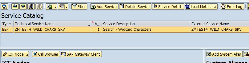 OData: Fetch records based on Search – using Wildcard