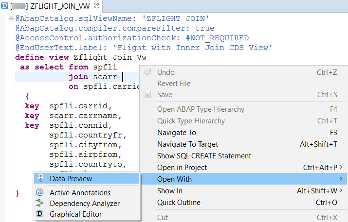 ABAP CDS on HANA-5 – SAPCODES
