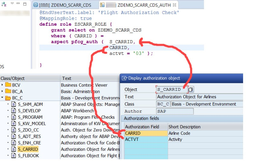 Access Control(DCL) in CDS View – SAPCODES