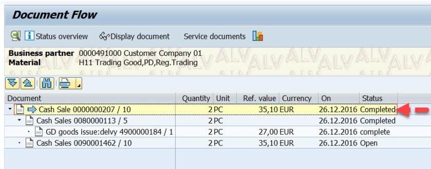 Cash Sales Order in SAP SD – SAPCODES