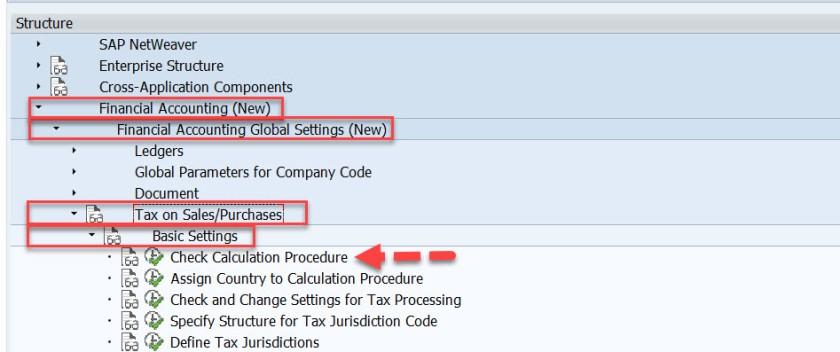 Tax G/L Account Determination in SAP SD – SAPCODES