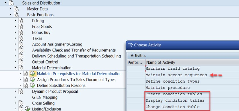 Material Determination in SAP SD – SAPCODES