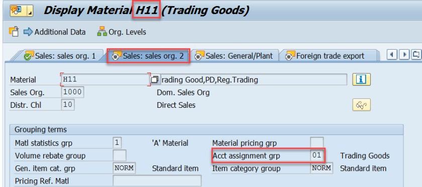 G/L Account Determination in SAP SD – SAPCODES