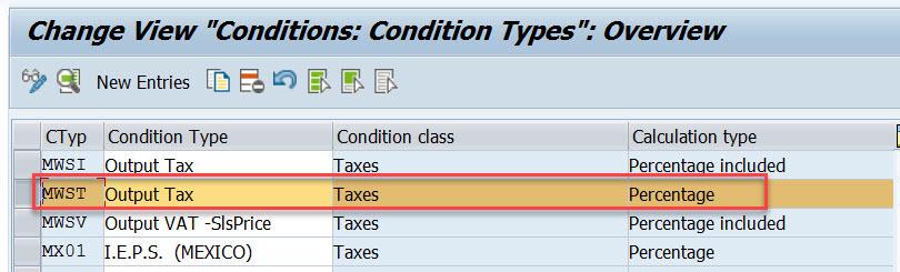 Tax Determination in SAP SD – SAPCODES