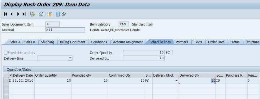 Rush Order in SAP SD – SAPCODES