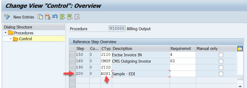 EDI Print Output Set For Billing Document SAPCODES - Edi invoice