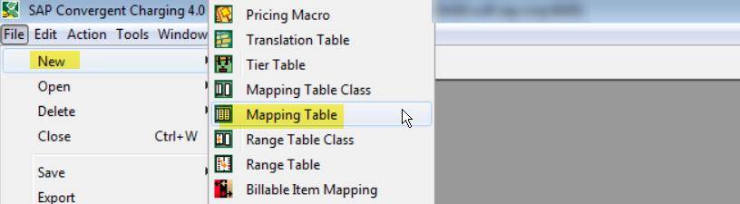 SAP CC Mapping Table – SAPCODES