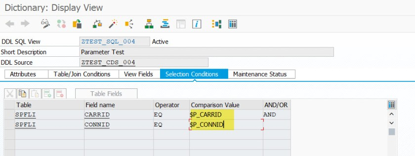 CDS View with Multiple Parameters – SAPCODES
